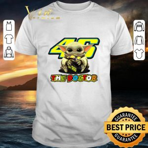 Official Baby Yoda hug 46 The Doctor Valentino Rossi Star Wars shirt