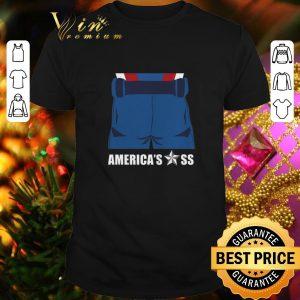 Official Captain America Avengers America's ass shirt