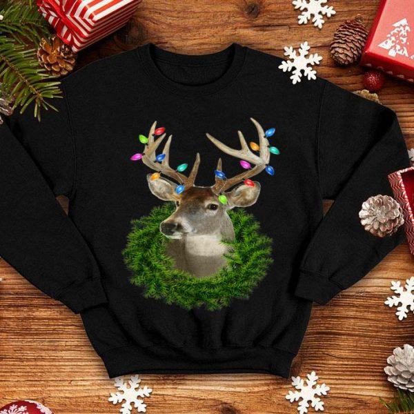 Official Christmas Whitetail Deer Buck Wreath sweater