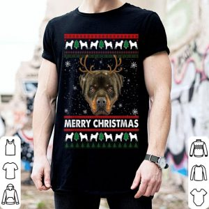 Official Rotweiller Ugly Christmas Funny Xmas Gift for Dog Lovers sweater