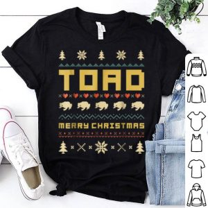 Official TOAD Ugly Christmas Sweater Vintage Retro Style sweater