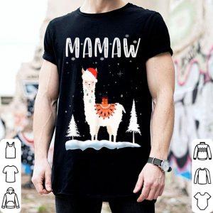 Original Mamaw Llama Christmas Funny Matching Family Pajama Gift sweater