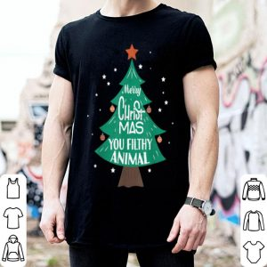 Original Merry Christmas You Filthy Animal Funny Xmas sweater