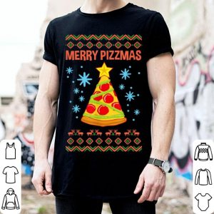 Premium Merry Pizzmas Funny Christmas Pizza Gift Ugly Xmas sweater