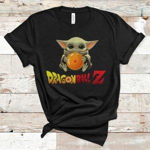 Top Star Wars Baby Yoda Hug Dragon Ball Z shirt