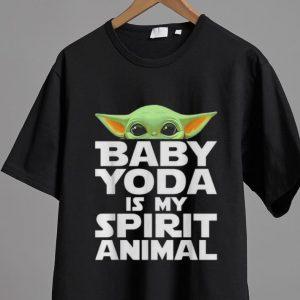 Awesome Baby Yoda Is My Spirit Animal shirt 1