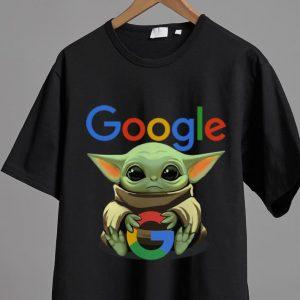 Top Star Wars Baby Yoda Hug Google shirt