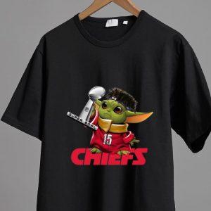 Awesome Baby Yoda Patrick Mahomes Kansas City Chiefs Super Bowl Champions shirt
