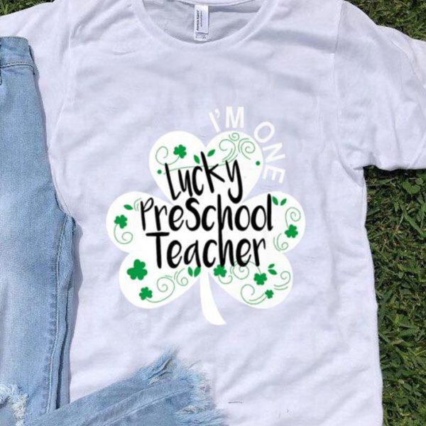 Beautiful Preschool Teacher Lucky St Patricks Day Nursery Prek shirt