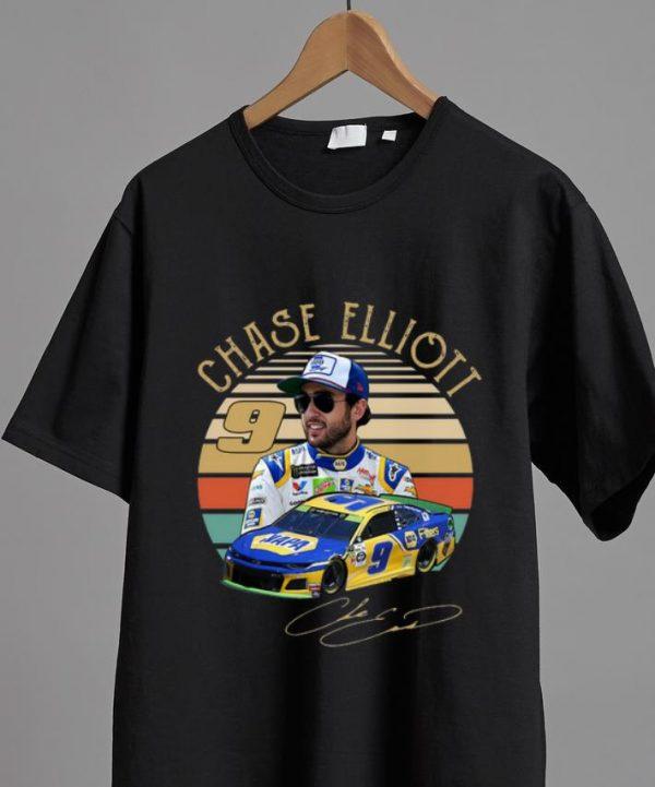 Great Chase Elliott vintage sunset shirt