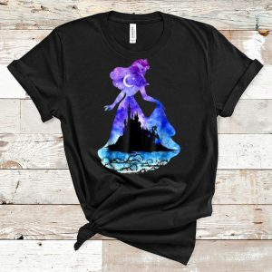 Hot Disney Sleeping Beauty Cinderella Castle Silhouette shirt