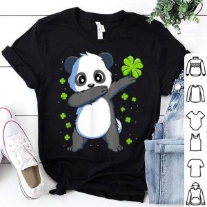 Nice Dabbing Panda St Patricks Day Gift Boys Girls Dab shirt