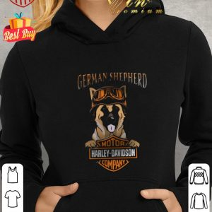 Nice German Shepherd Mashup Motor Harley Davidson Company shirt