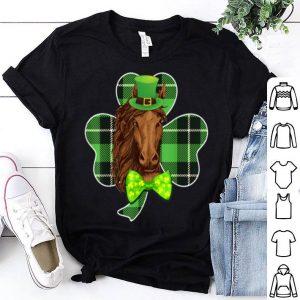 Nice Shamrock Horse St Patrick's Day Gift shirt