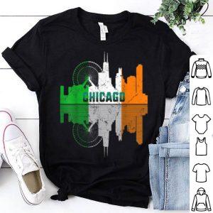 Nice St Patricks Day Chicago Il City Irish Flag Shamrock Gift shirt