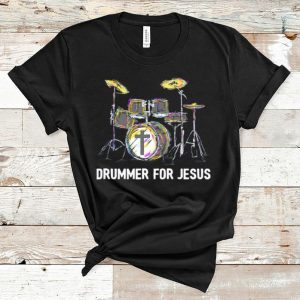 Official Drummer For Jesus Music Lovers shirt