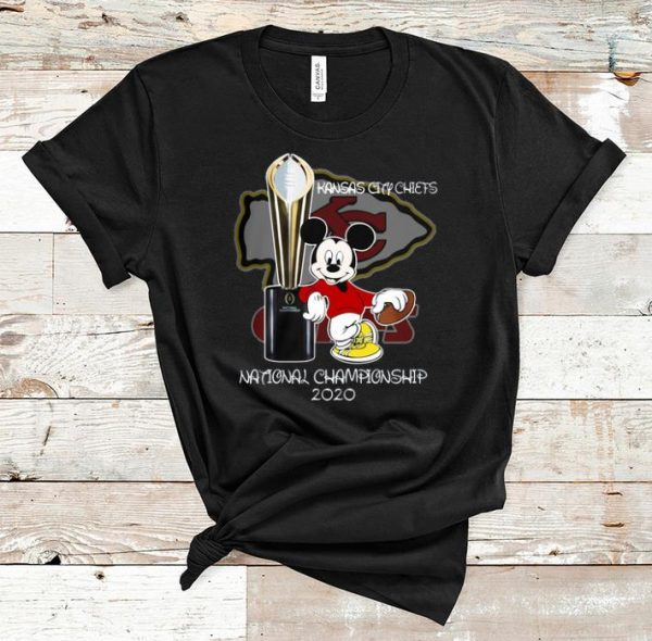 Official Mickey Kansas City Chiefs National Champions 2020 shirt