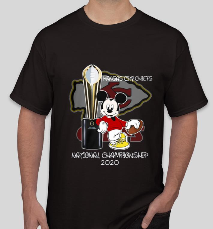 Official Mickey Kansas City Chiefs National Champions 2020 shirt 4 - Official Mickey Kansas City Chiefs National Champions 2020 shirt