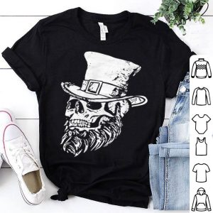 Official Saint Patricks Day Irish Skull & Beard Vintage Sketch shirt
