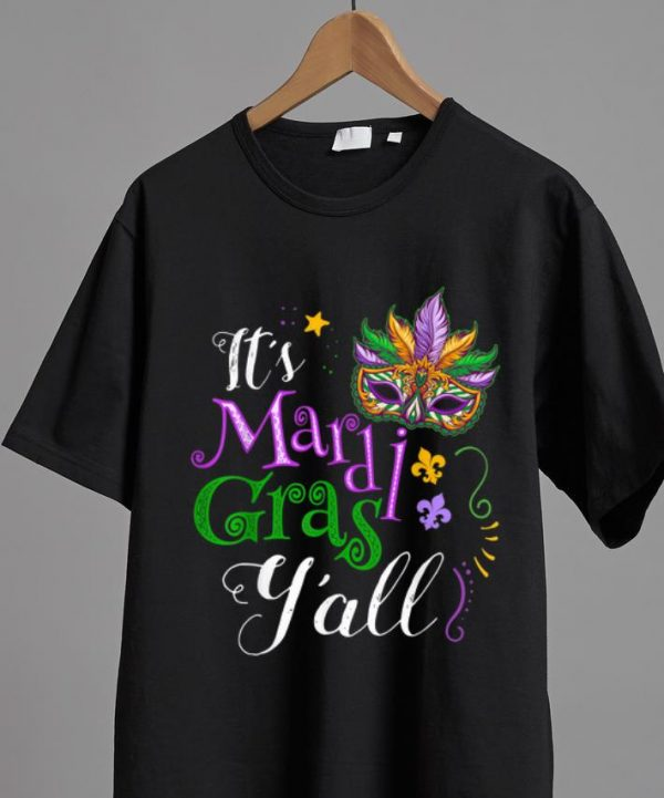 Original It's Mardi Gras Y'all Parade Lovers shirt