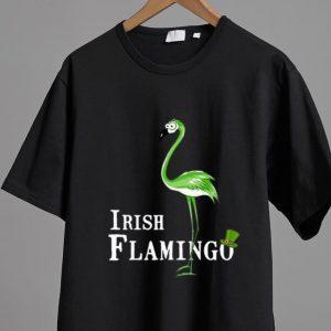 Original St Patrick's Day Irish Flamingo shirt