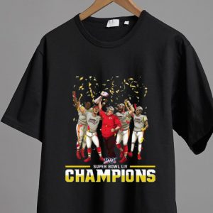 Premium Kansas City Chiefs Super Bowl Liv Champions NFL shirt 1