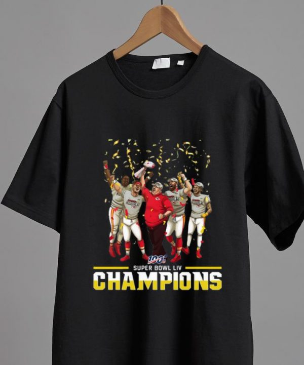 Premium Kansas City Chiefs Super Bowl Liv Champions NFL shirt