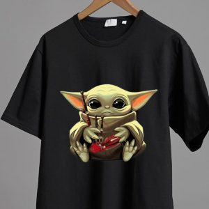 Pretty Star Wars Baby Yoda Hug Bagpipes shirt 1