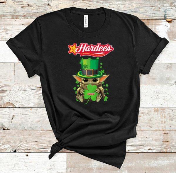 Top Baby Yoda Hardee's Shamrock St.Patrick's Day shirt