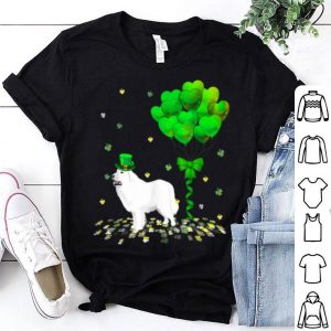 Awesome Irish Great Pyrenees Leprechaun Balloon St Patricks Day shirt