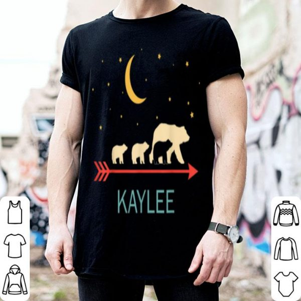 Awesome Kaylee Name Gift Personalized Mama Bear With 3 Cubs shirt