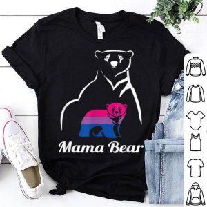 Awesome Lgbt Bisexual Pride Mama Bear Gift shirt
