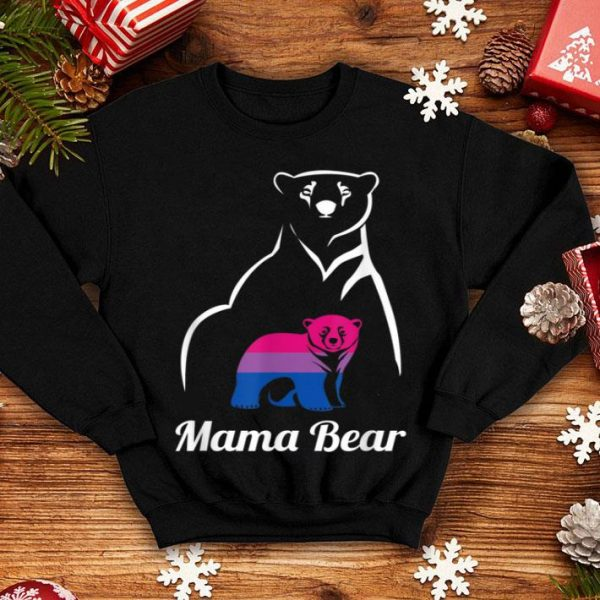 Awesome Lgbt Bisexual Pride Mama Bear Gift shirt