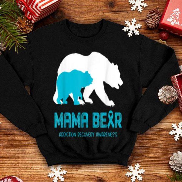 Awesome Mama Bear Addiction Recovery Awareness For Women Men shirt