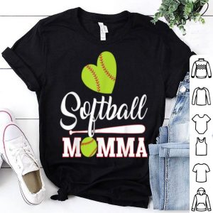 Awesome Softball Momma Catcher Pitcher Mothers Day For Mom shirt