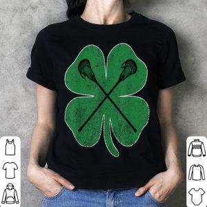 Awesome St. Patrick's Day Green Shamrock Lacrosse Irish Men Boys shirt