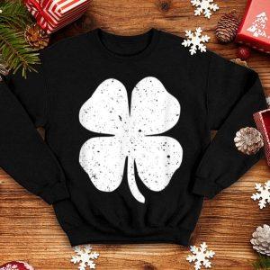 Awesome St Patricks Day With Shamrock Be Irish On Pattys Day shirt