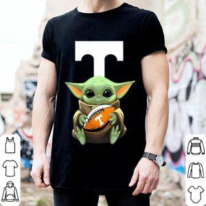 Baby Yoda Hug Tennessee Volunteers shirt