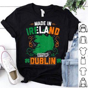 Beautiful Irish St Patricks Day Dublin Ireland shirt