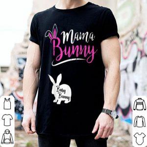 Beautiful Mama Bunny Baby Bunny Easter Pregnant Mom Gift Fun shirt