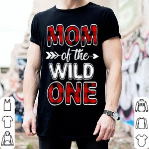 Beautiful Mom Of The Wild One Buffalo Plaid Mothers Day Gift shirt