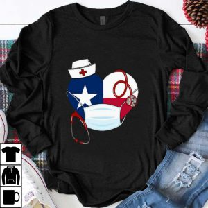Hot Love Texas Nurse Coronavirus shirt