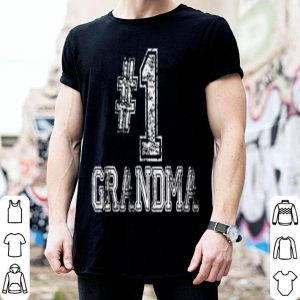 Nice Beautiful Mother's Day Gift - #1 Grandma - Number One Tee shirt