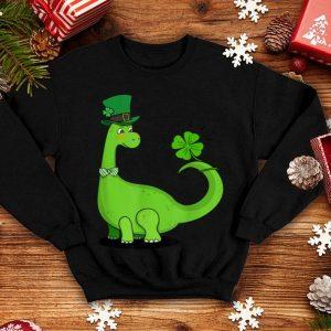 Official Kid's Dinosaur Shamrock St Patrick's Day shirt