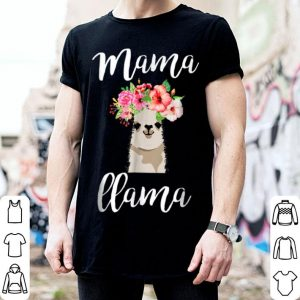 Official Mama Llama Llama Gift Mothers Day Gift For Mommy shirt