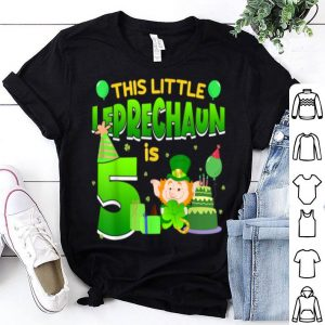 Original 5th Birthday St. Patrick's Day shirt