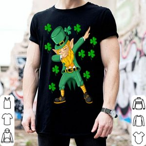 Original Dabbing Leprechaun St Patricks Day Funny Boys Men Gift shirt