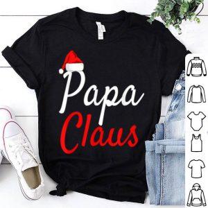 Original Mens Papa Claus- Mama Claus Baby Claus Daddy Claus Pajamas shirt