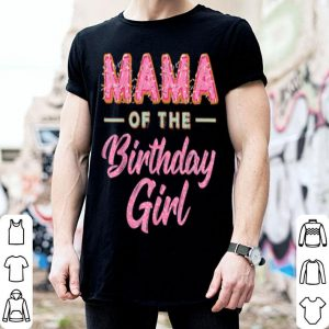 Premium Cute Donut Mama Birthday Girl Sweet Family Donut Bday shirt