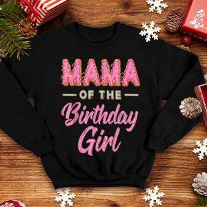 Premium Cute Donut Mama Birthday Girl Sweet Family Donut Bday shirt